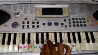 "Madharasapattinam BGM """"feel of love"""" on keyboard"