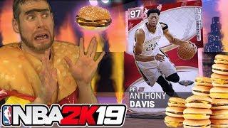 I became a Cheeseburger for NBA 2K19