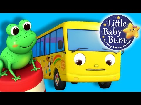 Thumbnail: Ten Little Buses | Part 2 | From Wheels On The Bus | Nursery Rhymes | By LittleBabyBum!