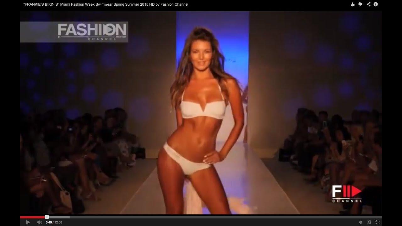 """""""FRANKIE'S BIKINIS"""" Miami Fashion Week Swimwear Spring Summer 2015 HD by Fashion Channel"""