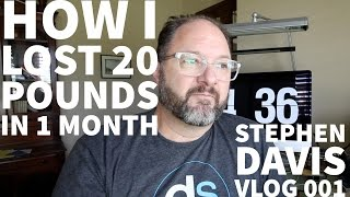 HOW I LOST 20 POUNDS in 1 MONTH with APPLE WATCH // Vlog 001
