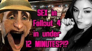 Fallout 4 Sex% Speedrun in 11:59 (World Record)