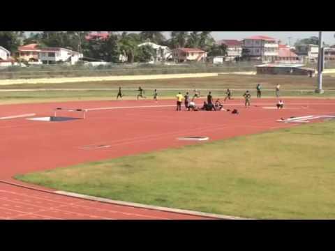200m sprint Guyana