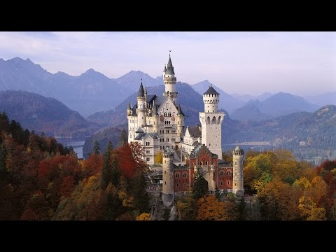 Awesome Nature in Neuschwanstein Castle, Germany