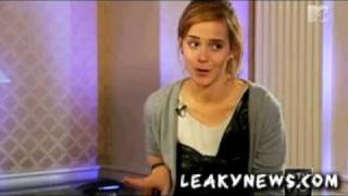 MTV Emma Watson is not a morning person