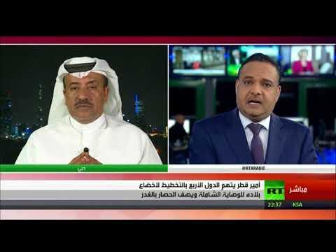 Live Broadcast from Our Media Studio, Dubai- Dr.Khaled Al Kasmy For RT Arabic-19/09/2017