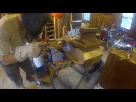 Aluminum Stick Welding SMAW, Z 400 Skid Plate Rebuild