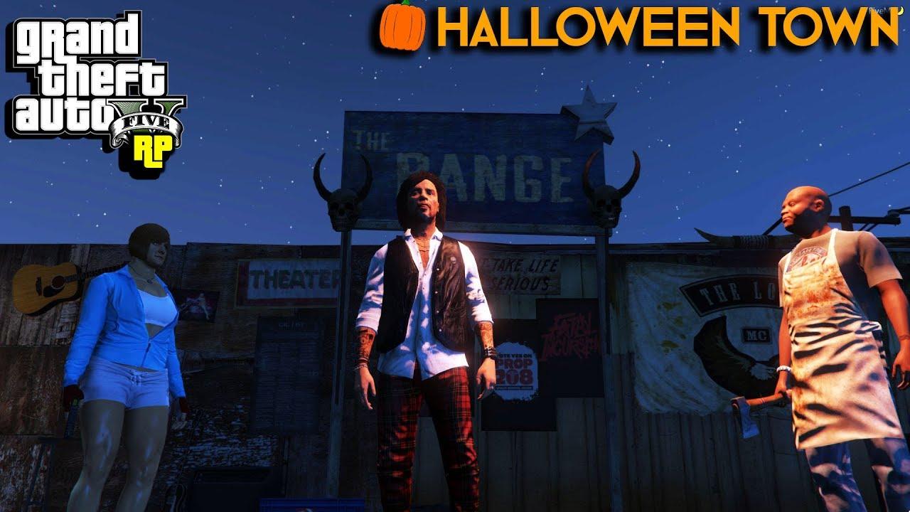 BUTCHERING VIEWERS! | Halloween Town #2 (GTA RP) - YouTube