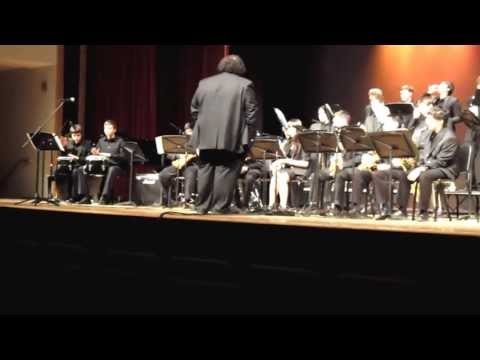 "Montgomery HS Jazz Festival 4/12/13: Montgomery High School Jazz Band (""Partido Blue"")"