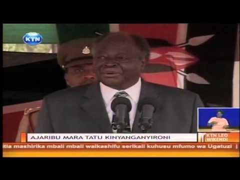 Mtoka mbali raisi mstaafu Mwai Kibaki