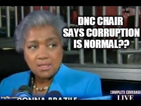 DNC Head Says Corruption Is NORMAL?!