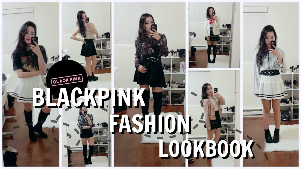 BLACKPINK Fashion Lookbook 'Stage Outfits' 블랙핑크 무대 패션 ...