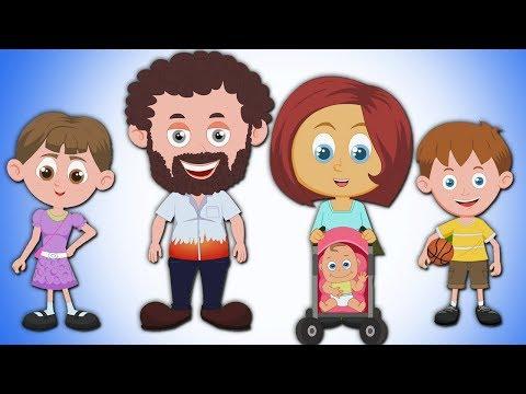Finger-Familie | Deutsche Kinderlieder | Vorschulreim | Nursery Rhyme For Kids | Finger Family Song