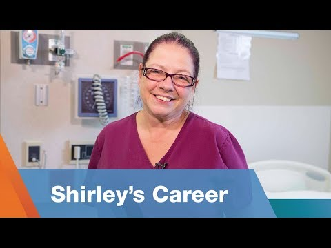Shirley's Career As A Certified Nursing Assistant