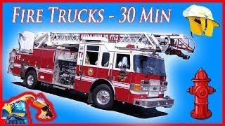 Videos For Children - Fire Truck Nursery Rhymes Playlist | by Blippi