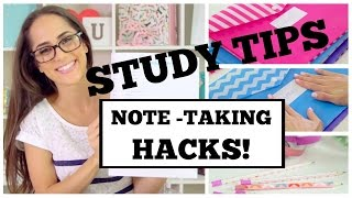 || NOTE TAKING HACKS || How to be the BEST and FASTEST note-taker in school!