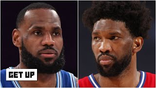LeBron or Joel Embiid: Who has the better chance to win MVP? | Get Up
