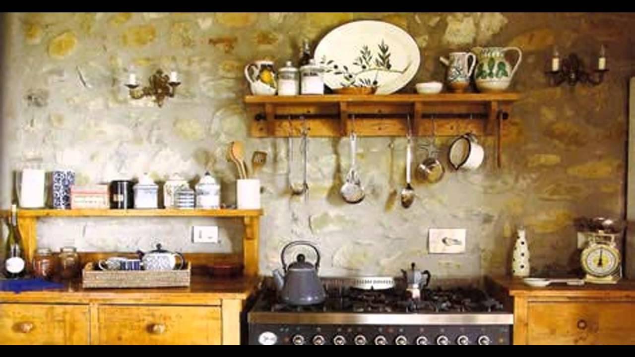Elegant Tuscan Kitchen Decorating Ideas Youtube