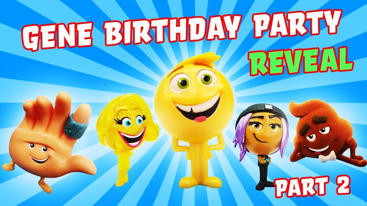 Emoji Movie Gene Birthday Singing Competition Reveal Jailbreak Smiler Hi 5 My Little Pony