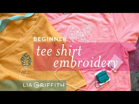 Quick and Easy DIY Embroidered Shirt Tutorial