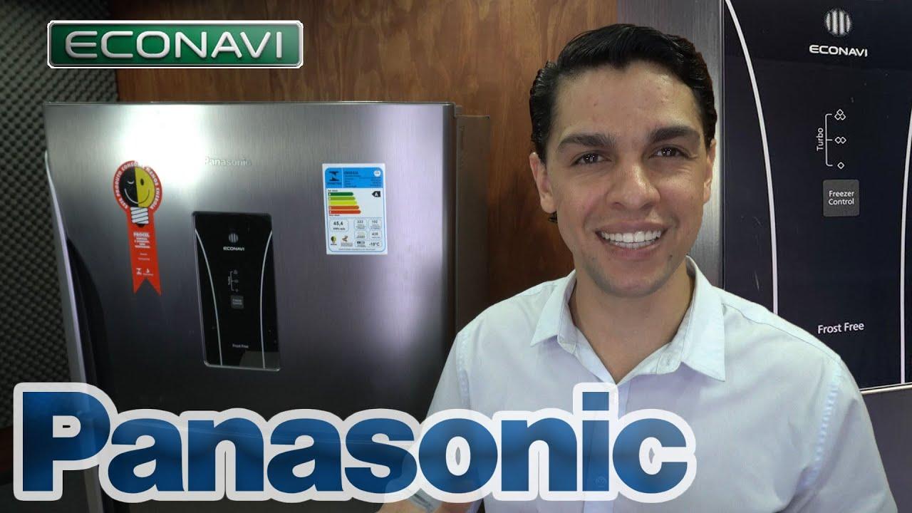 GELADEIRA PANASONIC Duplex Frost Free 435 AÇO ESCOVADO Inox NR BT50 - REVIEW