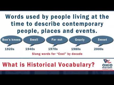 Using Chronicling America -- Historical Vocabulary