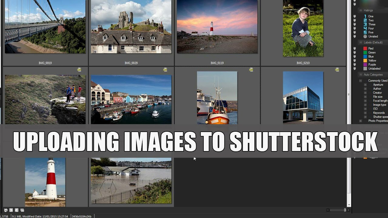 Selling Stock 3  How to Upload Images to Shutterstock