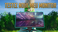 TESTEZ NOUL MEU MONITOR OP | 1400 WINS | FORTNITE ROMANIA #60