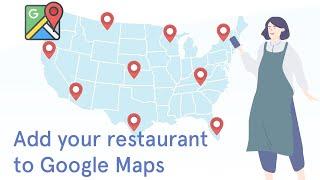 Restaurant to google maps ...