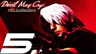 Devil May Cry HD - Gameplay Walkthrough Part 5 - Labyrinth & Chalice (Remaster) PS4/XB1/PC