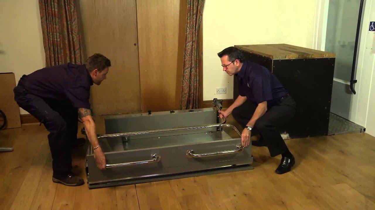 Portable Tall Wheelchair Platform Lift : Terry lifts portable wheelchair platform lift short video