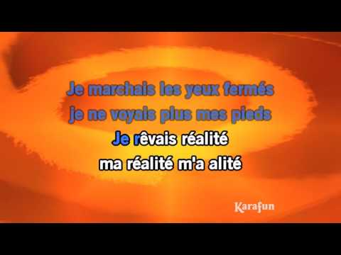 Karaoké Un autre monde - Téléphone *