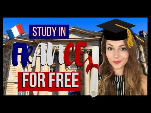 How to study in FRANCE in ENGLISH for FREE! 🇫🇷📙 My story 🤘 (French subtitles)
