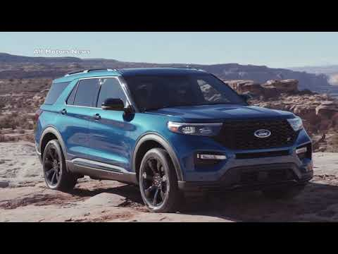 2020 FORD EXPLORER Uncovered EXTERIOR  INTERIOR