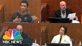 Chauvin Trial: Memorable Moments From Week One Testimonies | NBC News NOW