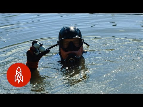 Diving For Golf Balls in America's Most Famous Water Hazard