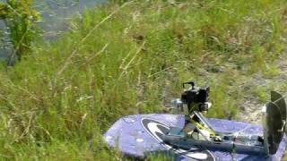 Boogie Board Airboat With 31cc Ryobi Weedeater Motor
