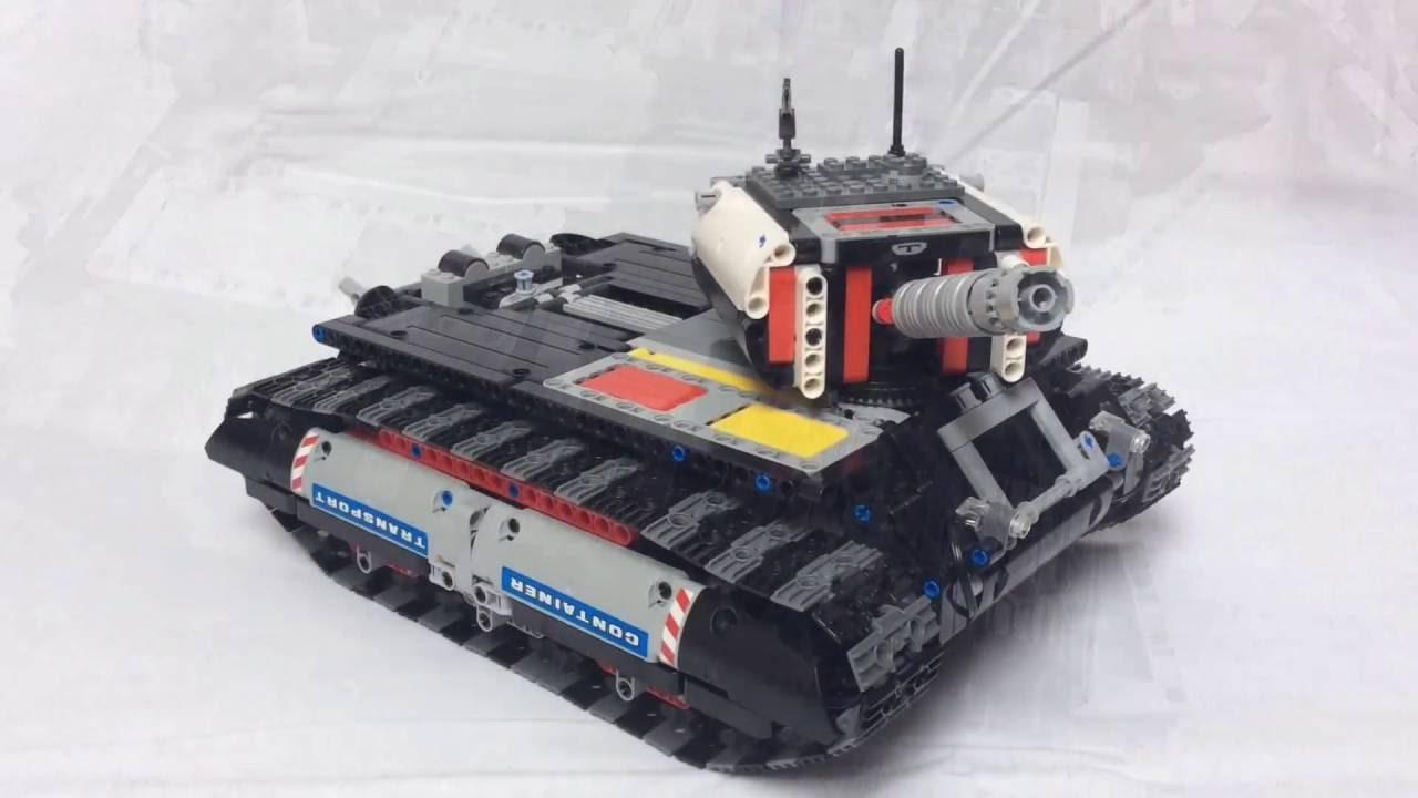 lego technic heavy tank youtube. Black Bedroom Furniture Sets. Home Design Ideas