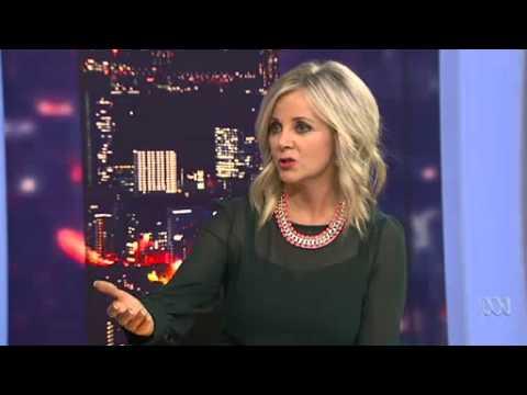 Chelsea Islan on ABC News Australian Broadcasting (She's AWESOME)
