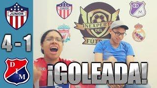 Reacción Junior de Barranquilla vs Independiente Medellín 4-1 (08/12/18) Final Liga Aguila 2018