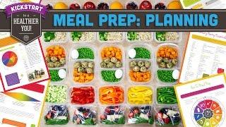 Meal Prep: Planning Prep Day! Mind Over Munch Kickstart 2016