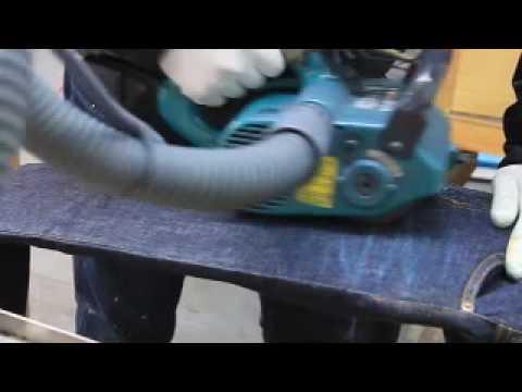 豊和株式会社 ジーンズヒゲ加工 Jeans processing