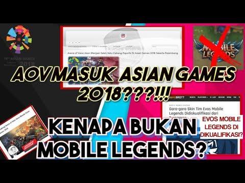 AOV Masuk ASIAN GAMES 2018?! & EVOS Mobile Legends Di-diskualifikasi?!! - Bebek Gaming
