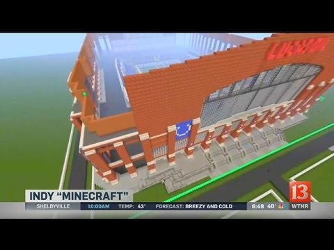 Indianapolis man builds city in Minecraft