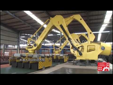 Кирпичные заводы от Cosmec. Автоматические линии для производства кирпича (Китай / Италия)