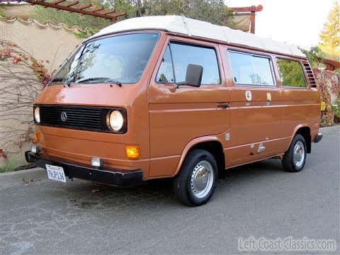 1981 Vw Vanagon Riviera Camper Van Youtube