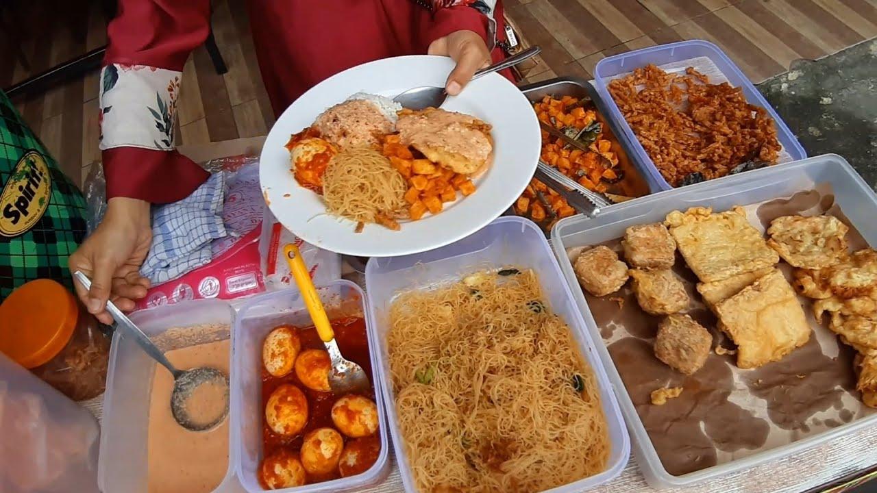 HARGA 12 RIBU !! NASI UDUK WONG JAWA JUALAN BARU 1 BLN - INDONESIAN COCONUT MILK DISH STREET FOOD