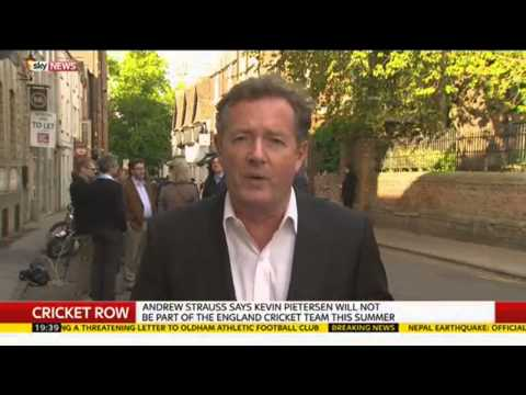 Piers Morgan Reacts To Kevin Pietersen's Exclusion From England Team