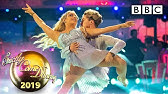 Saffron Barker and AJ dance Contemporary to Because You Loved Me - Week 4 | BBC Strictly 2019