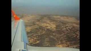 Aproximacion y aterrizaje E190 de Conviasa en el Aeropuerto Jose Leonardo Chirino de Coro.